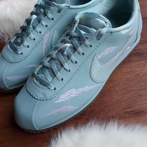 Nike classic Cortez goddess of victory blue ocean